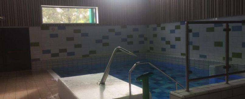 Fysiotherapie in het zwembad